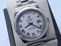 ROLEX PRESIDENT DAY DATE II 218239 YEAR 2008 IN 18K