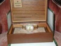 This is a Gents President Rolex 22k with day/ date,