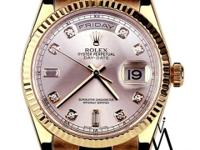 Rolex Presidential 36mm 18K Rose Gold Day-Date 18038