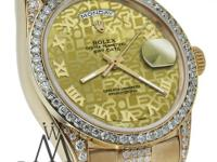Rolex Presidential Day-Date 36mm Diamond Watch 18K