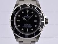 Rolex 16600 Sea Dweller, Stainless Steel on a Stainless