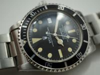 Dial: Original black dial with lume. Case : Stainless