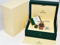 Rolex BRAND NEW Sky-Dweller 18k Everose Gold Chocolate