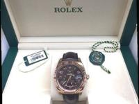 This is a Rolex, Sky Dweller 326135 Chocolate Dial for