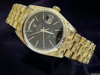 This very rare 100% genuine Rolex timepiece is