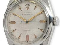 Rolex stainless steel pre-Explorer Oyster Perpetual