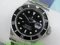 Stainless Steel Men's Rolex Submariner Date model