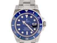 Pre-Owned Rolex Submariner (116619LB) self-winding