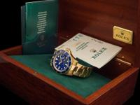 The Rolex Submariner with Lapis dial is perhaps the