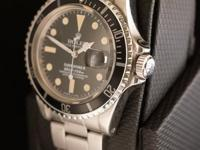 The Rolex Submariner 1680 is a marvelous watch. Its