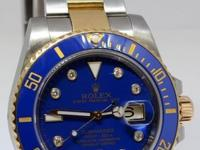 Rolex Submariner 18k Yellow Gold & Steel Ceramic