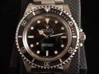 The Rolex Submariner 5513 is seen as the original