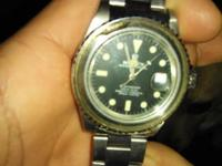 The bezel is chipped. Has been is family. Authentic