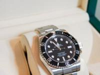 Rolex Submariner Ceramic Ref: 114060 - No Date - New in