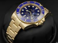 Rolex Submariner, Blue Sunburst Dial, Blue Cerachrom
