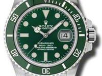 Rolex Submariner Date Green Ceramic 116610LV Hulk Style