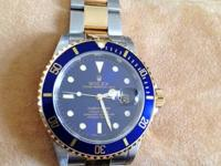 I am promoting a Men Rolex Submariner Oyster Perpetual