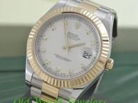 Rolex Men's new style stainless steel and 18K yellow