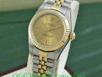 LADY'S 18K Yellow Gold and Stainless Steel Rolex