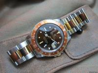 The iconic Root Beer Rolex! Gaining popularity amongst