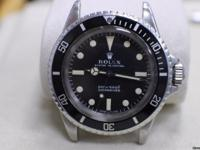 VINTAGE ROLEX 5513 SUBMARINER STAINLESS STEEL VERY RARE