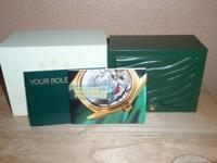 I have empty rolex watch box w/ manual. It is in very