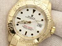 Watch Specifics: Brand- Rolex Model- Yacht-Master