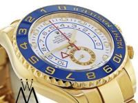Rolex Yacht-Master II 116688 18K Yellow Gold White Dial
