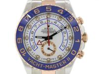 2014 Rolex Yacht-Master II Stainless Steel 18k Everose