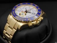 Rolex, Yacht-Master II, Yellow Gold, Blue Ceramic