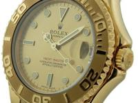 Mid-Size Rolex Yacht -Master In 18k Yellow Gold. The