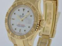 CERTIFIED PRE-OWNED Rolex Yachtmaster White Dial 18K