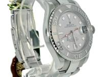 We just got this really nice Rolex Yachtmaster in on a