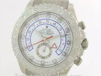 Gents Rolex YachtMaster II, Ref# 116689 18K White Gold