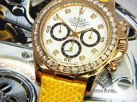 Rolex Zenith Daytona Chronograph 18k Yellow Gold