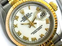 Brand: Rolex Model: Datejust #69173 Year: 1995 Gender: