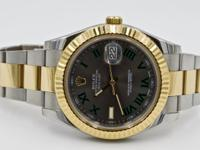 Up for sale we have this Rolex Datejust II Two Tone.