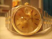 Rolex Oysterquartz Datejust, 36mm, in stainless steel