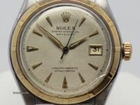 This is a Rolex Datejust for sale by Cavalieri Jewelry