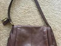 Rolfs Brown Genuine Leather Handbag. Never used. Bag is