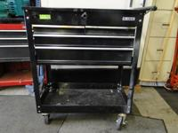 Roll Around Portable Toolbox Tool Chest Cart 4 Drawer,