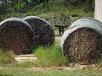 We have rolls of peanut and grass hay. $50 for pickup