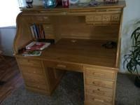I have a Roll Top Computer Desk for sale and is in very