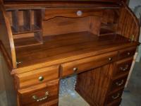 Type:OfficeType:DesksRoll Top Desk, smaller size in
