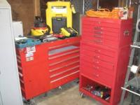 Rollaway Toolbox + SnapOn Rollaway Base Unit, 5-Step