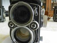 Rooleiflex twin lense reflex camera, with a Zeiss