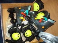 Roller blade in-line skates. Like new condition. Cost