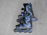 Ventura Roller Blades. Barely used. Size 4. Call  or