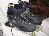 Mens size 12 Roller Blades worn twice. New $225 asking