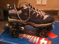 Im selling a pair of skechers roller skates. They have